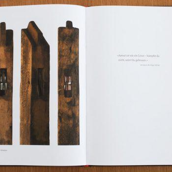 Bootschafft Hoffnung, ein Unikatbuch mit Werken von Gert Koch