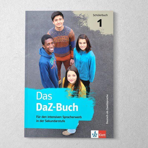 Das DaZ-Buch, Lehrwerk für den intensiven Spracherwerb in der Sekundarstufe – Layout, Gestaltung, Satz, Reinzeichnung der Innentypografie, Designbüro Swabianmedia
