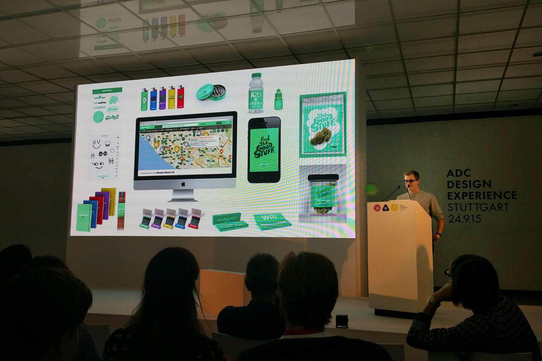 ADC Design Experience 2015 #adcdx15 in #Stuttgart mit Max Siedentopf