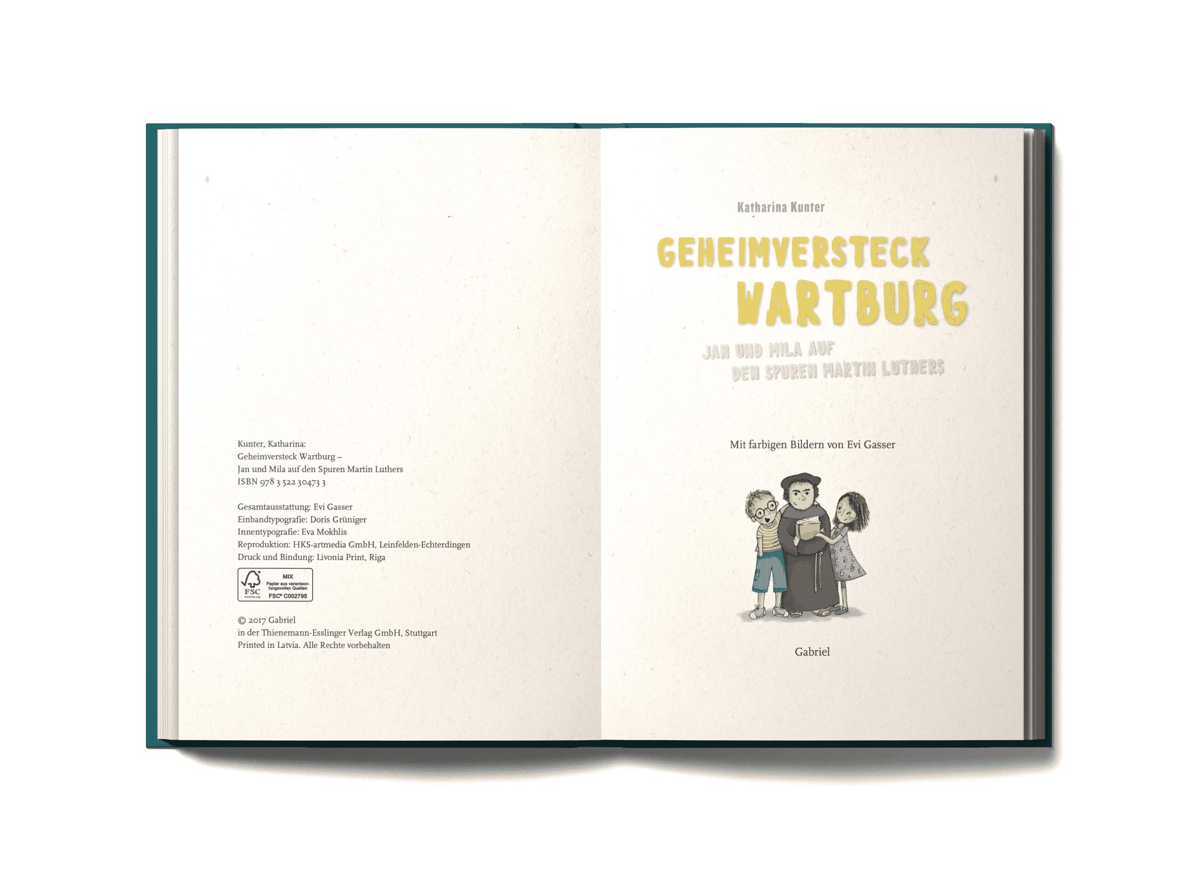Geheimversteck Wartburg, Jan und Mila auf den Spuren Martin Luthers